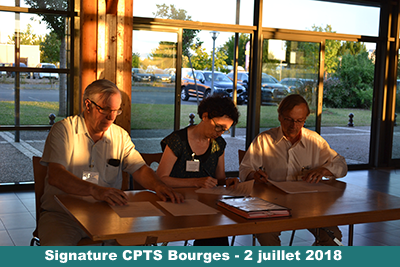 Signature CPTS Bourges